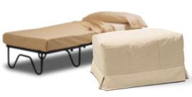 Puf cama 12 pufs cama colchoneria macein - Puff cama convertible ...
